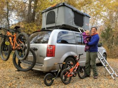 Freelance writing and testing outdoor gear perks during a Fall camping trip.
